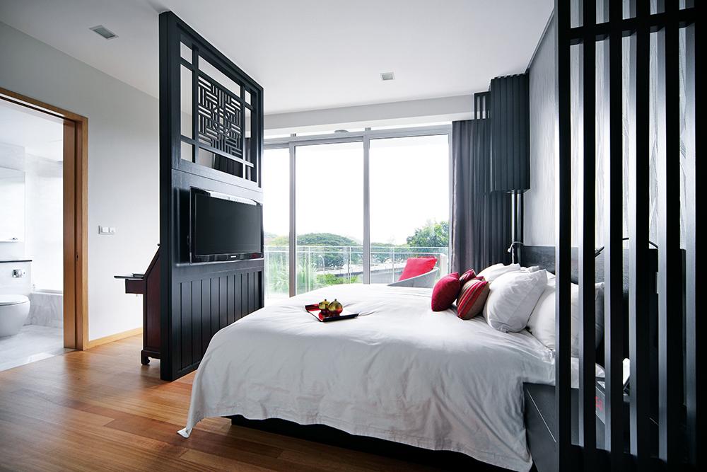 Delightful Master Bedroom Tv Wall #8: Master Beds Room | Partition ...