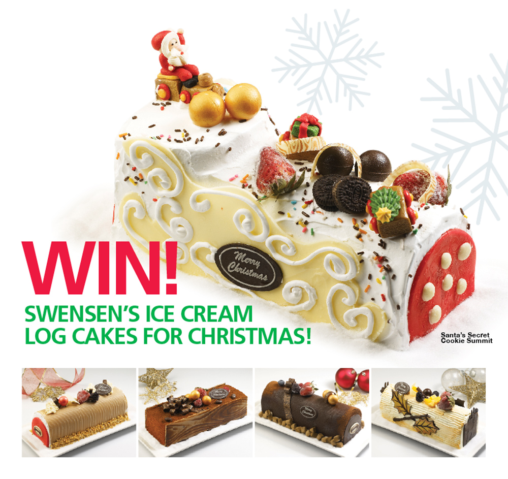 Swensen christmas promotional giveaways